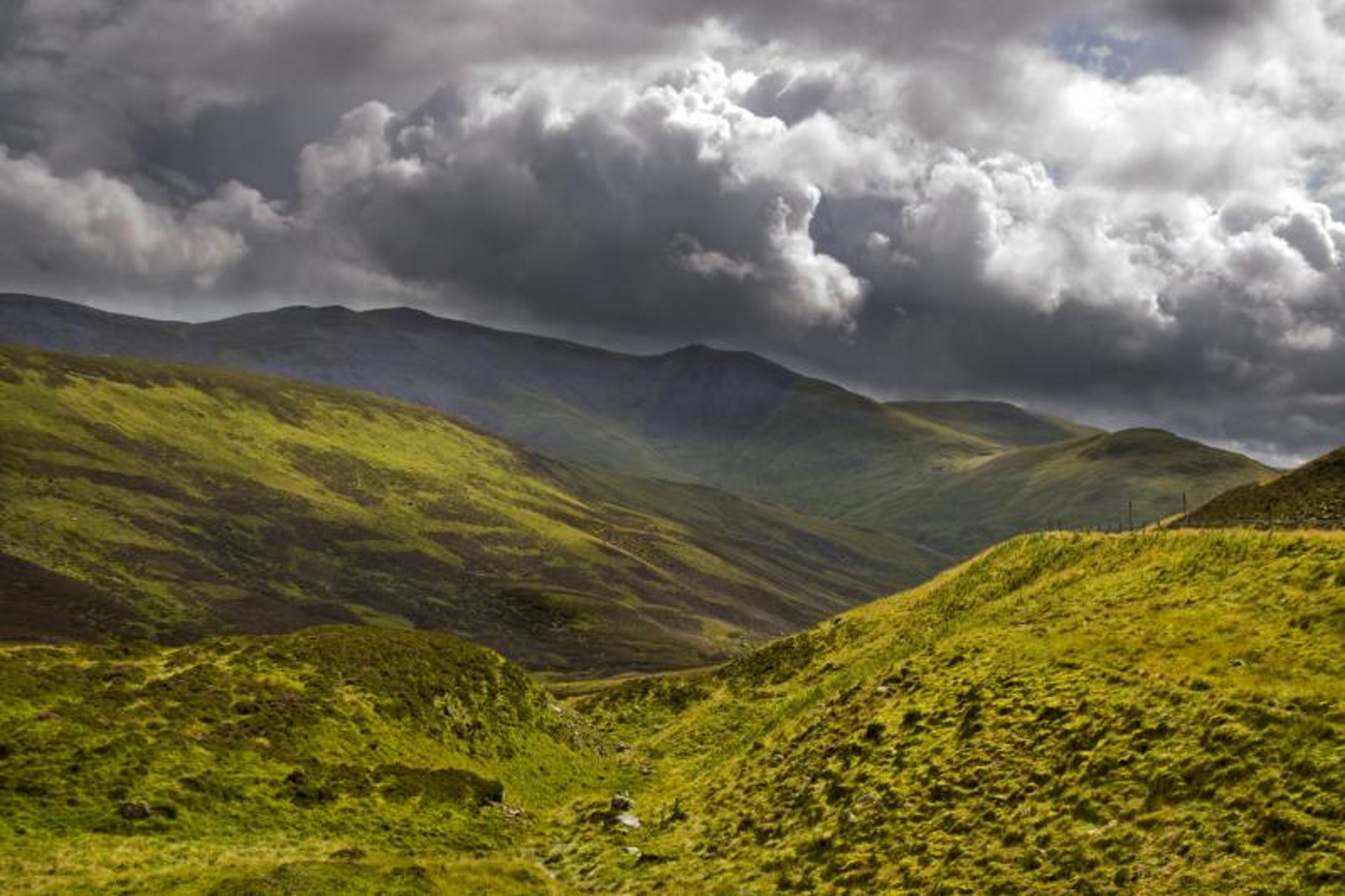Magnificent Highland scenery